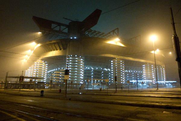 "\""December 2010. Milaan , San Siro stadion\"""