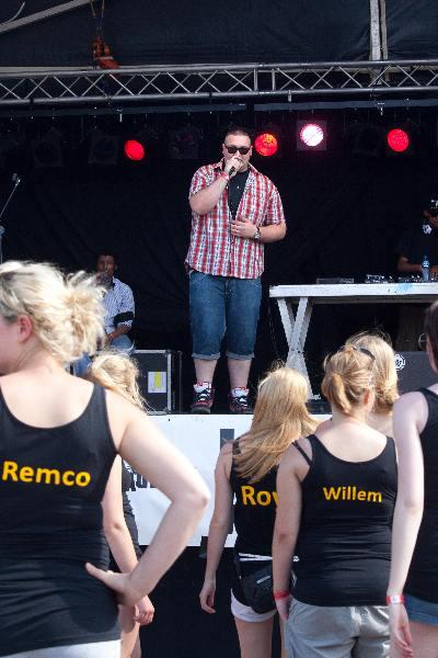 "\""Nijmegen, 5-6-2011 . Odd-stream festival Vasim, zaterdag. met o.a. Maarten de Paepe, The Gathering\"""