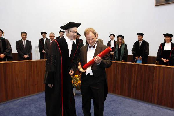 "\""Jurgen A.H.R. Claassen promotie Aula RU. 25-11-2008\"""