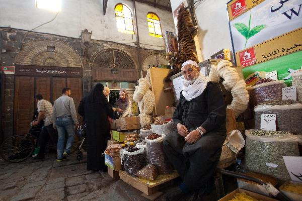 """Mei 2010, Syri�, Souk in Damascus\"""