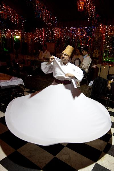 "\""Mei 2010, Syri�, Derwish danser\"""