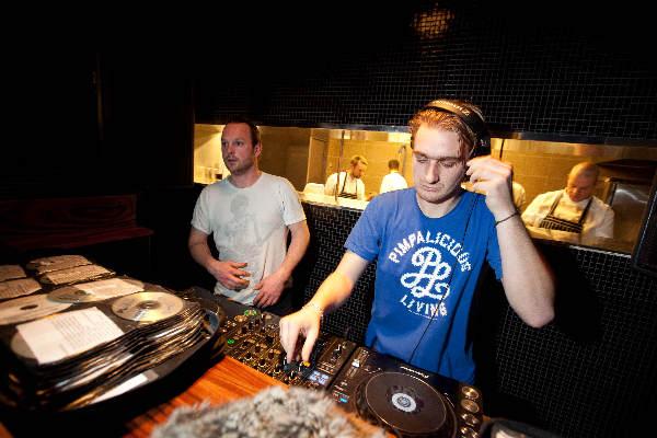 "\""Nijmegen, 16-12-2010 . Opening Lounge club Touch, Bloemerstraat 23\"""