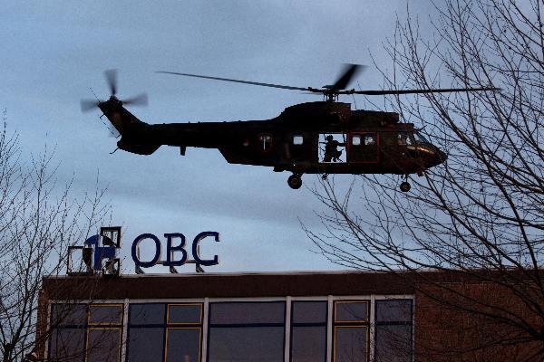 "\""Bemmel, , 2-4-11: Militaire oefening in Bemmel, OBC gegijzeld met helikopters en aktie\"""