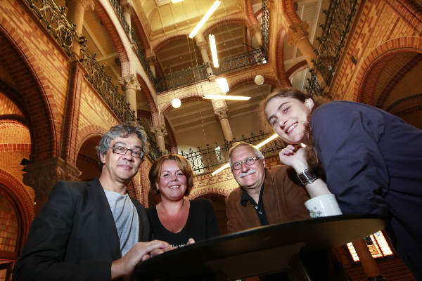 "\""Nijmegen, 16-9-2010 . Opleiding sociale architectuur bij de HAN , onder wie HAN-docente Alletta Schimmel\"""