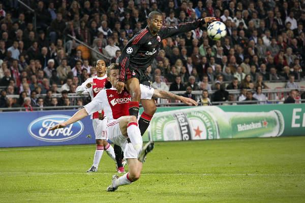 "\""Amsterdam Arena, 28-09-10. Ajax AC Milan. Robinho\"""