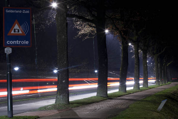"\""Beuningen, 25-1-2012 . Dynamische verlichting Wilhelminalaan\"""