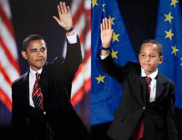 "\""Doedoe als obama , foto van Doro krol\"""