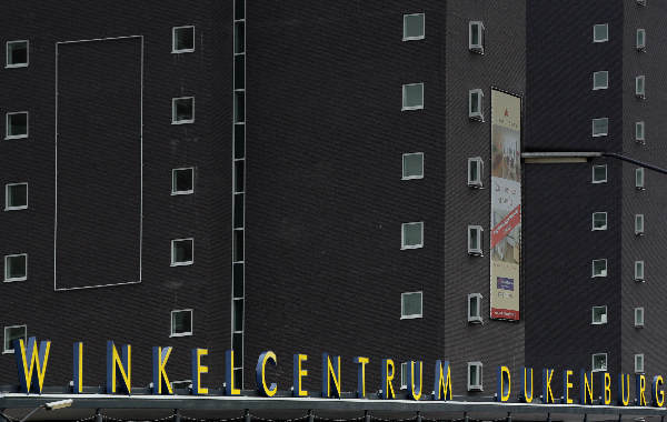 """Letters op winkelcentrum Dukenburg"""