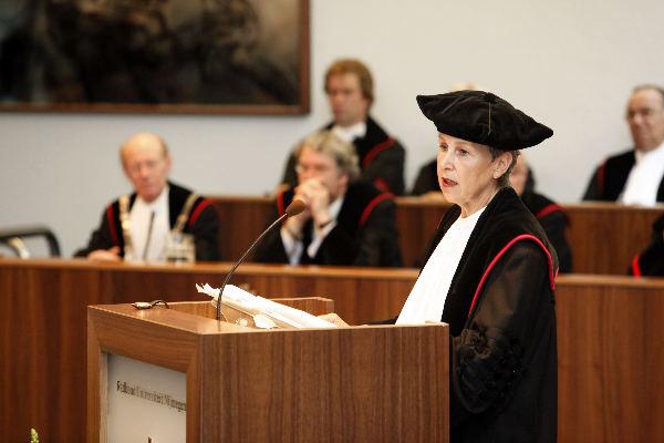 "\""Nijmegen, 03-07-2009, afscheidscollege Prof. mr. I. P Asscher-Vonk,  Aula RU-Nijmegen\"""