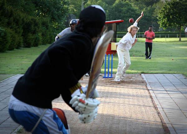 "\""Cricket, oefening, training, Quick velden\"""