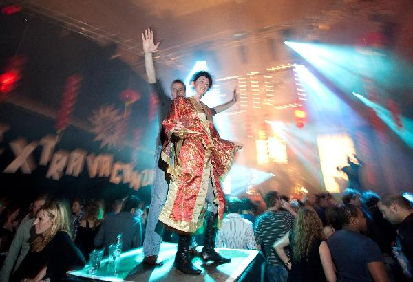 "\""Nijmegen, 1-1-2010 . Newyearsparty Club Extravaganza 2010, Vasim. nieuwjaarsfeest. Meer op: http://www.oypo.nl/E03EDC9E17F9CF04\"""