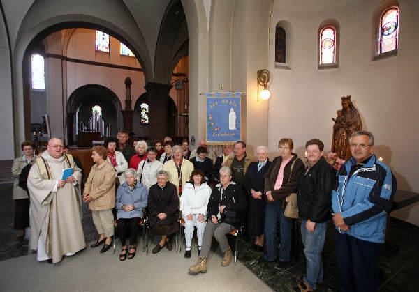 "\""Lourdesgangers in Comas en Damianuskerk\"""