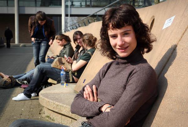 """""""Wielrenster Marijke Vos studeert aan de Radbouduniversiteit"""""""
