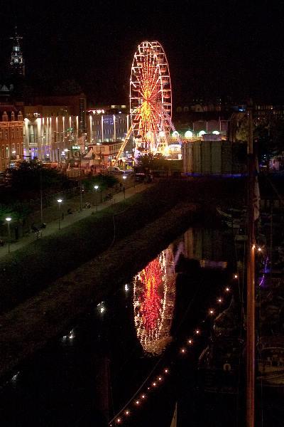 "\""Nijmegen, 7-2010 . Zomerfeesten, Vierdaagse, Reuzenrad\"""