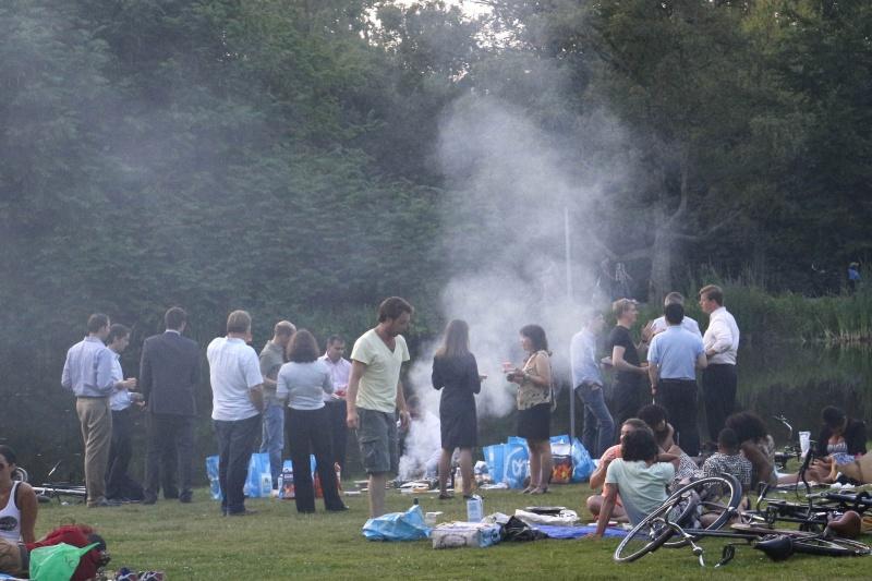 Vondelpark. Amsterdam, 22-7-2013