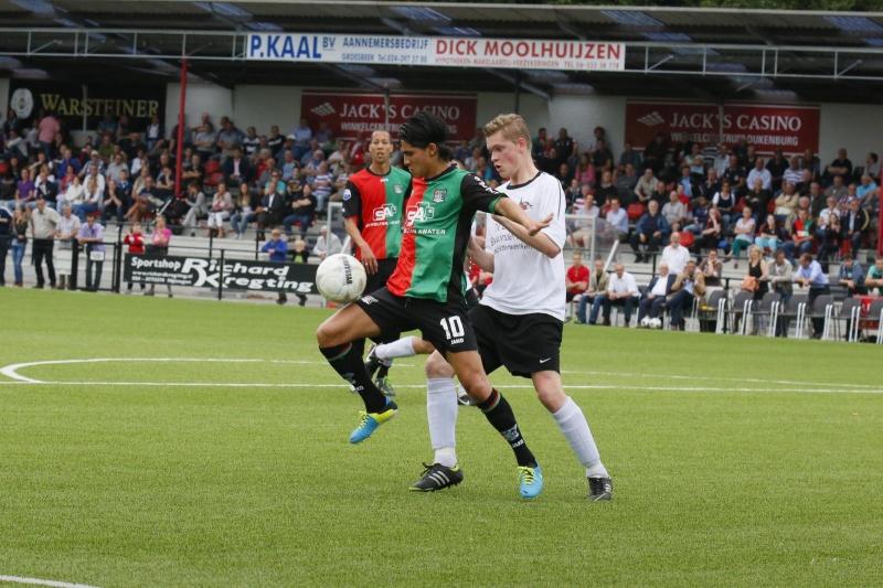 Nec speelt zijn tweede oefenduel tegen Quick 1888. Nijmegen, 2-7-2013 . dgfoto.