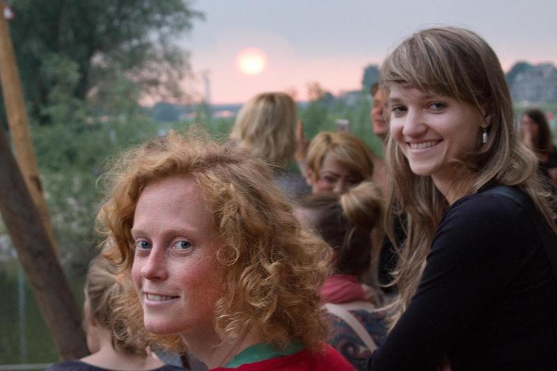 De Kaaij, Vrijdagavond. Nijmegen, 7-7-2013 . dgfoto.