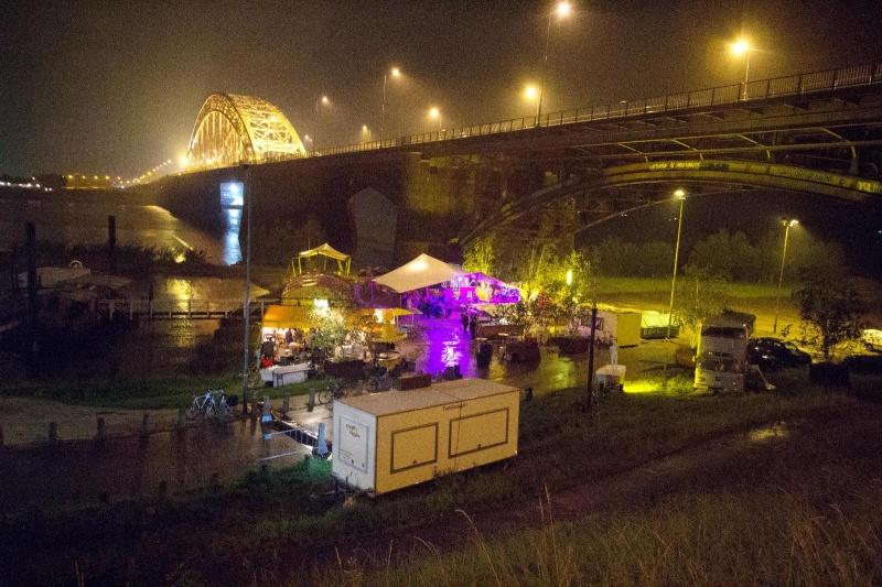 De Kaaij, eerste dag. Nijmegen, 28-6-2013 . dgfoto.