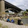 de Kaaij, zondag, derde dag. Nijmegen,30-06-2013 . dgfoto.