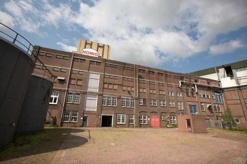 Honig terrein. Oude fabriekshallen van de Honig. Nijmegen, 30-6-2013 . dgfoto.