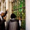 "\""Mei 2010, Syri�, Damscus, Omajjadenmoskee in Damascus met relkwie van Johannes de doper\"""
