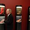 "\""Nijmegen, 5-2-2009 . Valkhofmuseum, tentoonstelling van Jan Jansen, Nijmeegs schoenontwerper en Swip Stolk\"""