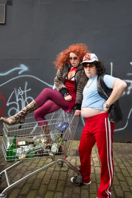 "\""Ron Vervuurt, Evelien Asselberg, opera Dolleboelja. Nijmegen, 08-3-2013 . dgfoto.\"""