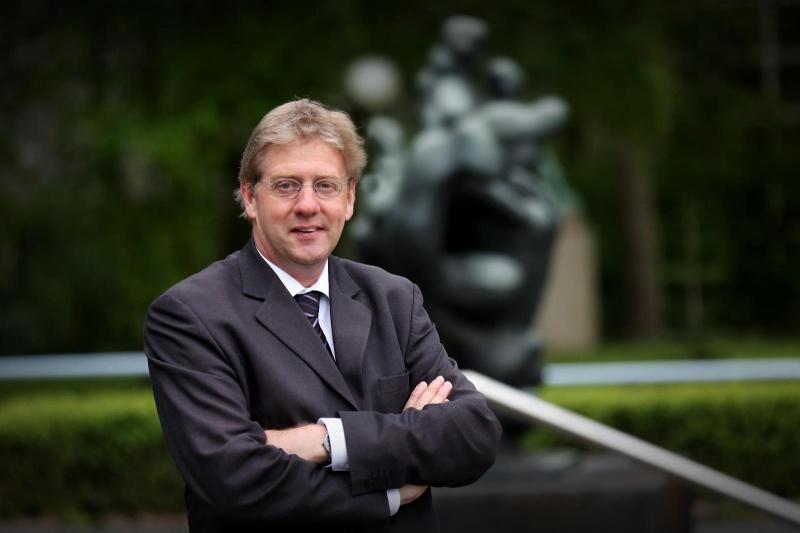 Gerard Meijer, sinds vorig jaar voorzitter college van bestuur van radboud universiteit. Nijmegen, 13-5-2013 . dgfoto.