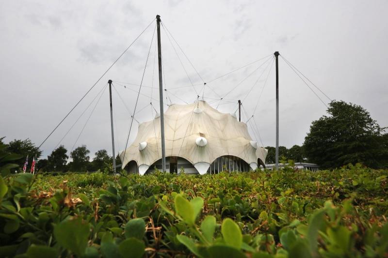 Bevrijdingsmuseum Groesbeek, exterieur en onderhoud, 17-6-2013 . dgfoto.