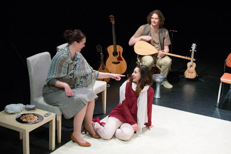 GAIA, theatervoorstelling van Theater aanZ. Lindenberg Aldenhof Nijmegen, 13-6-2013 .