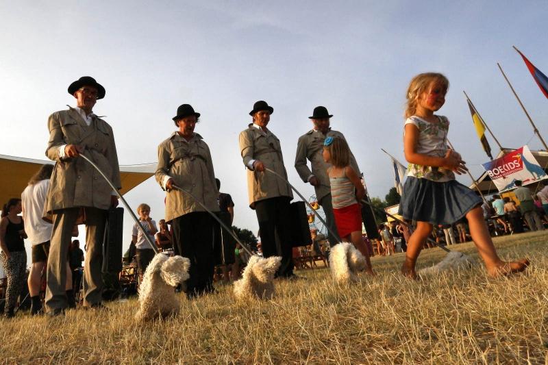Festival op 't Eiland, Zomerfeesten, Vierdaagsefeesten, Vierdaagse, . Nijmegen, 30-7-2013 . dgfoto.