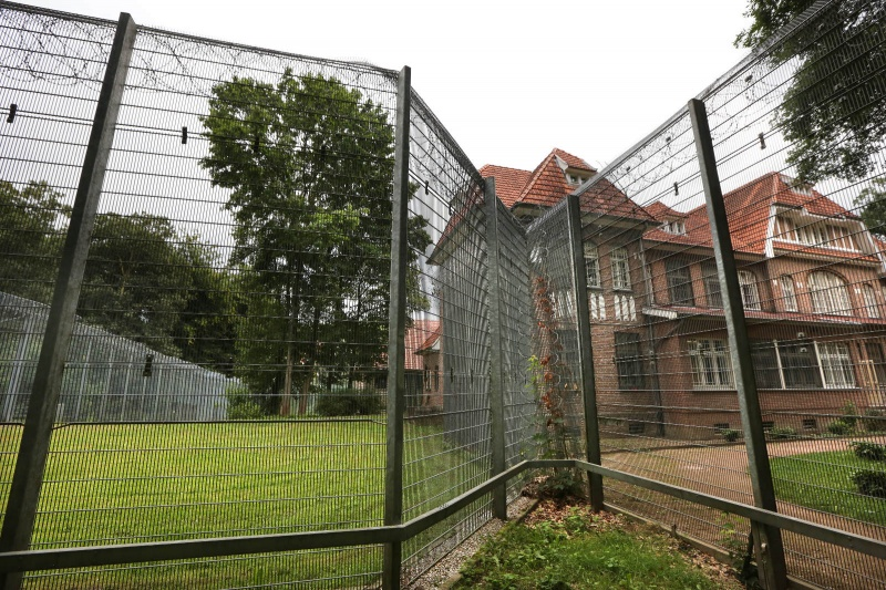 Rheinische kliniken, Kleve, Bedburg Hau met oa Art tol. Nijmegen, 18-9-2013 . dgfoto.