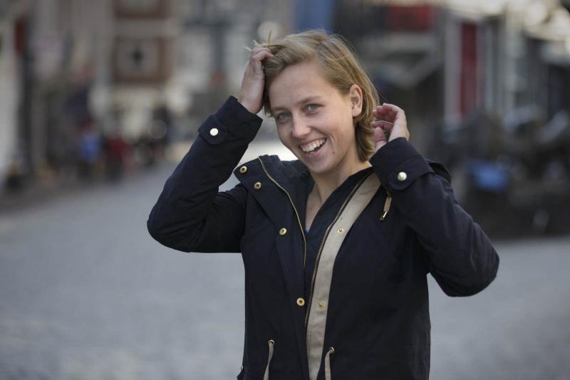 Hockey Kirsten Klop. Nijmegen, 27-3-2014 . dgfoto.