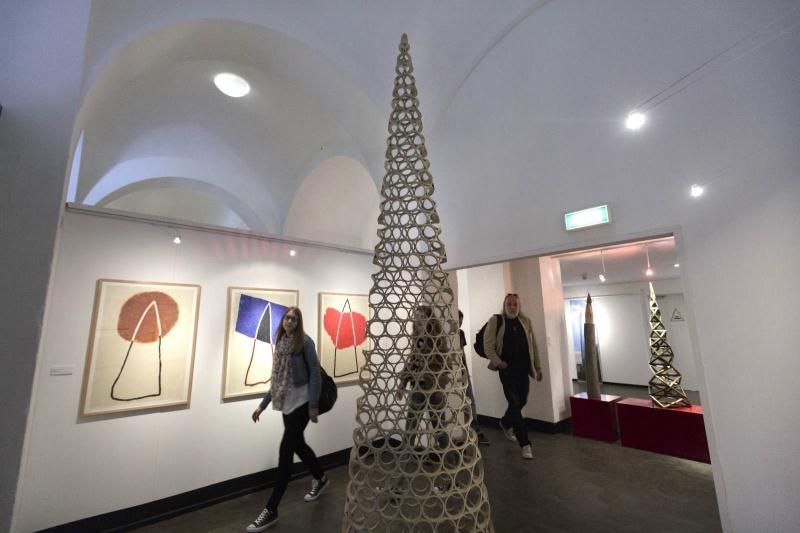 heropende museumpark Orientalis .met Toren van Babel expositie.. Nijmegen, 30-3-2014 . dgfoto.