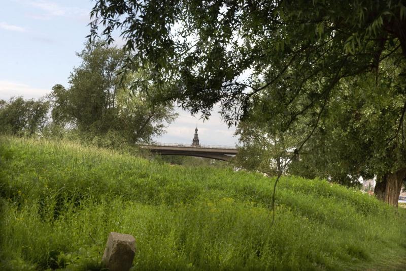 Stadswaard, natuurgebied net voraan in de Ooij . Nijmegen, 20-5-2014 . dgfoto.