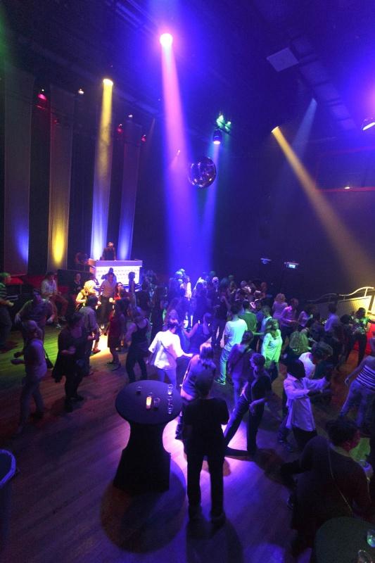 LUX, 30+ Swingfeest met Hanz en Casper. Nijmegen, 13-9-2014 . dgfoto.