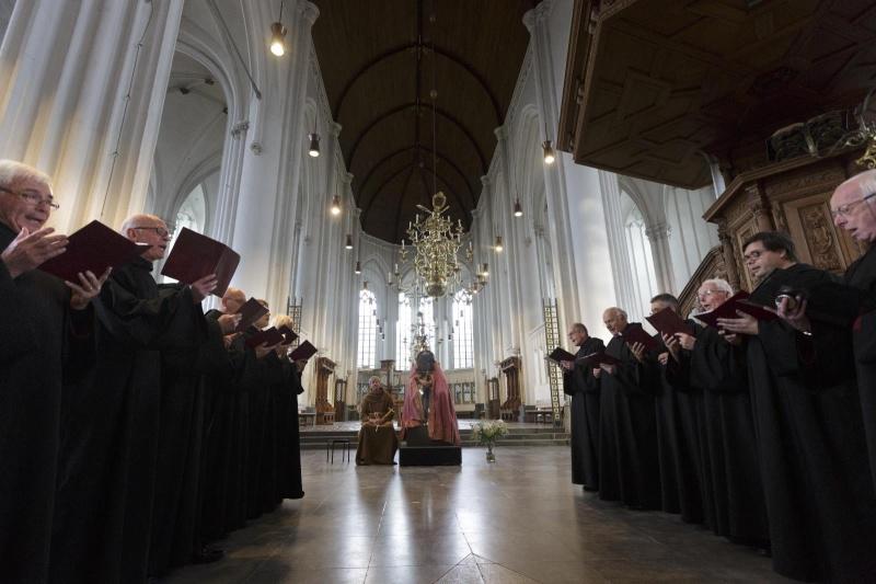 afscheid Karel de Grote Stevenskerk. Nijmegen, 26-10-2014 . dgfoto.