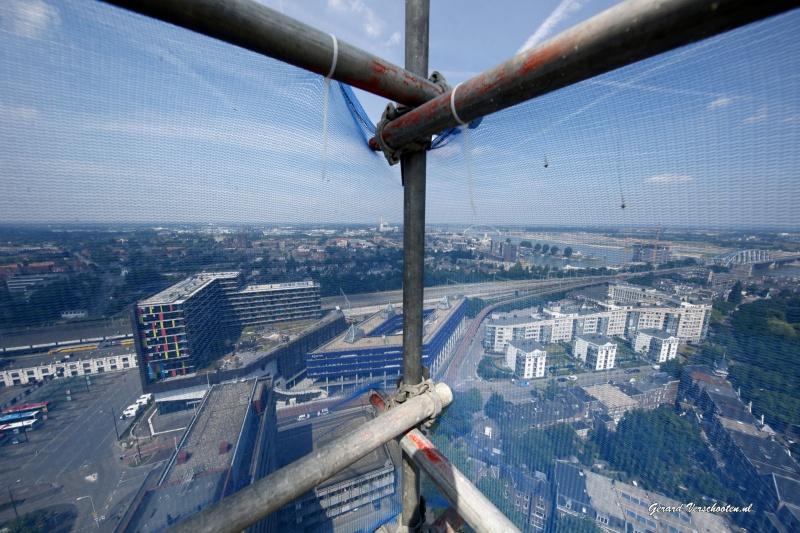 Nimbus hoogste gebouw NIjmegen, 24 verdiepingen, Cees Coenen, Talis. Nijmegen, 25-6-2015 . dgfoto.