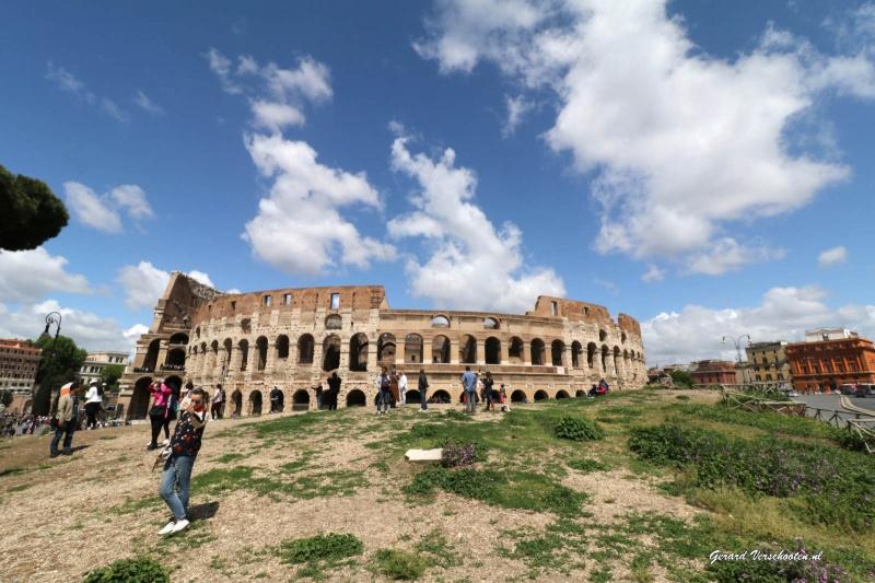Rome, 1-7 mei 2016 met Wies, Wim, Stef, Mart Tuur