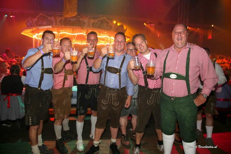 Oktoberfeesten in Afferden, 17-9-2016 .