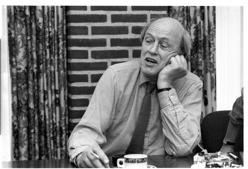 Roald Dahl bij de Kinderboekenwinkel 22 juni 1987. en in Belvoir... Nijmegen, 31-8-2016 .