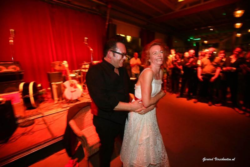 bruilift, huwelijk, Neerbosch, Meesterproef, Brebl, Michel Willems en Sylvia Snellen. Nijmegen, 28-8-2016 .