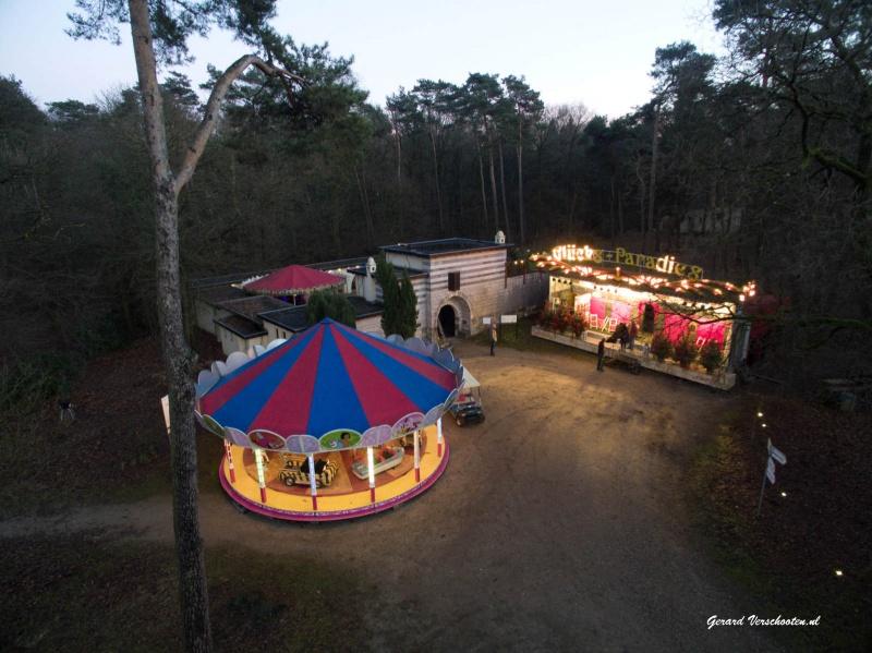 Feest van het licht, Museumpark Orientalis. Heilige landstichting. Nijmegen, 17-12-2016 .
