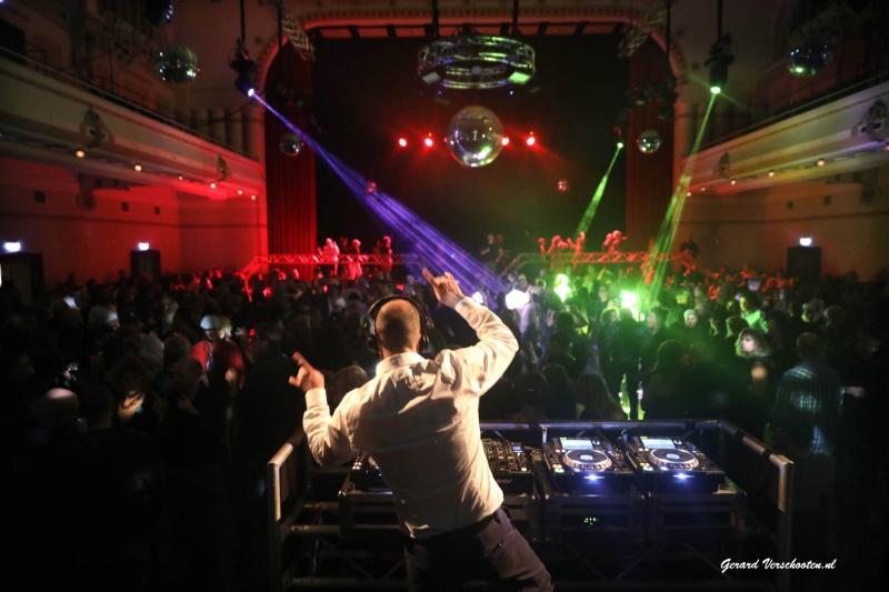 OZO swingfeest in de Vereeniging, 20 jaar. Nijmegen, 17-12-2016 .