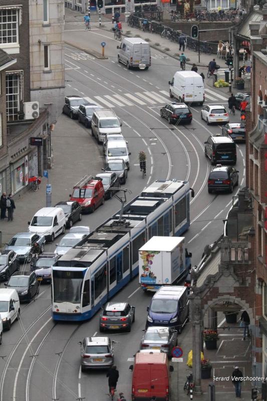 dagje Amsterdam met stedelijk en tuur. Nijmegen, 21-4-2017 .