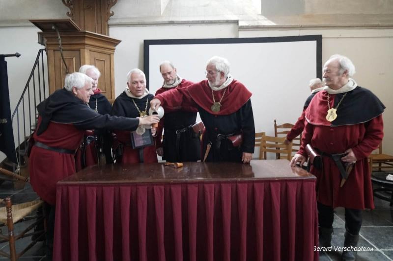 Gebroeders van Limburg festival, vergadering in de Stevenskerk, Wim. Nijmegen, 28-8-2017 .