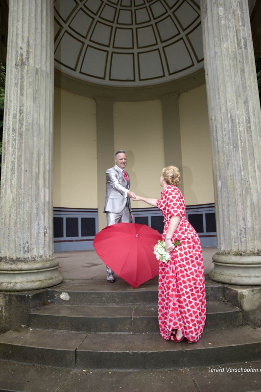 Huwelijk Jacqueline Winnen met Fred in Venzelderheide. ,1-7-2017 .