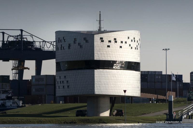 Rijkswaterstaat post aan de waal. Nijmegen, 7-2-2018 .