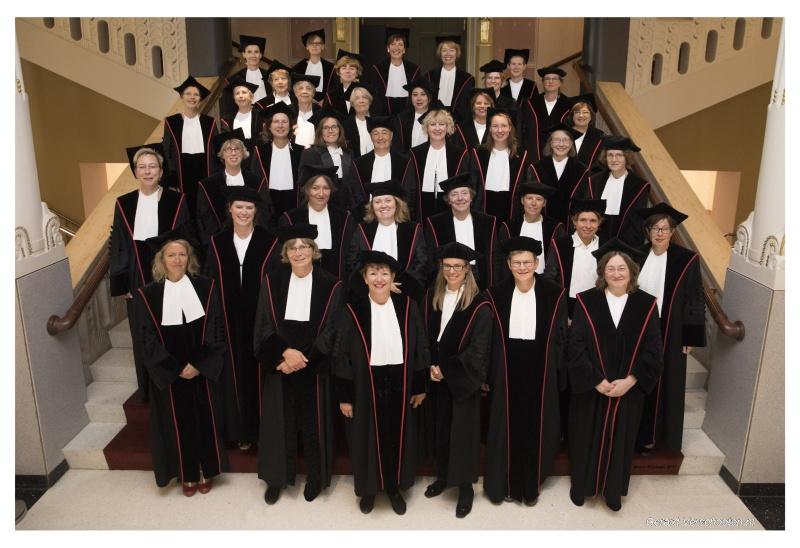 52 vrouwelijke hoogleraren RUN OAC. Nijmegen, 22-12-2017 .
