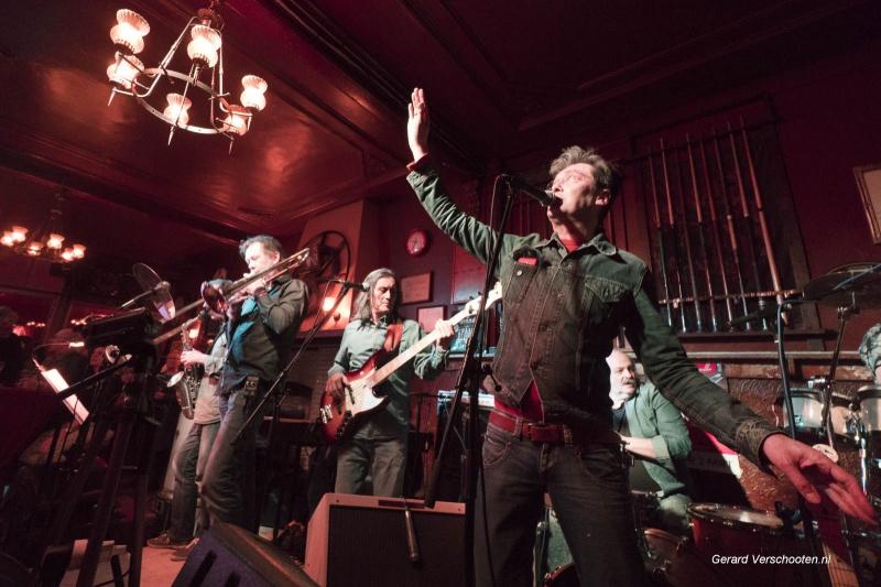 Tribute bands in Oost. Nijmegen, 25-2-2018 . Bob Marley bij cafe het Haantje